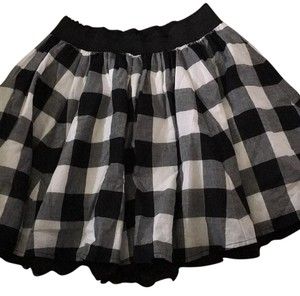 Forever 21 Skirt Black, white and gray