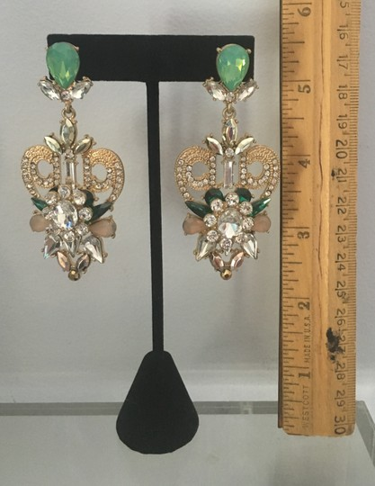 Other Fabulous large dangle sparkle earrings Image 4