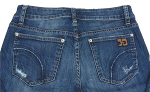 JOE'S Jeans Distressed Boot Cut Jeans-Medium Wash