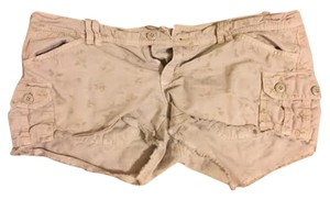 American Eagle Outfitters Mini/Short Shorts Tan with Floral