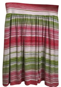 Lane Bryant Skirt Pink green