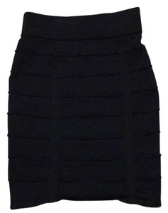 Material Girl Mini Skirt Black