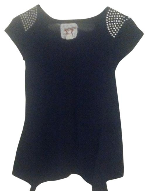 Other Studded T Shirt Black