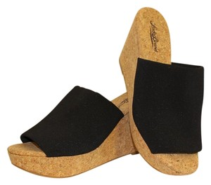 Lucky Brand Mule Cork black Platforms