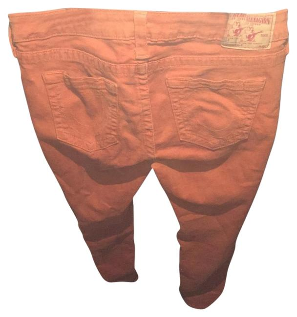 Item - Orange Halle Skinny Jeans Size 31 (6, M)