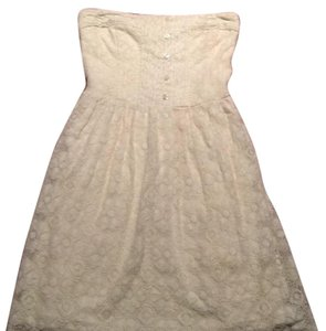 Abercrombie & Fitch short dress Ivory on Tradesy