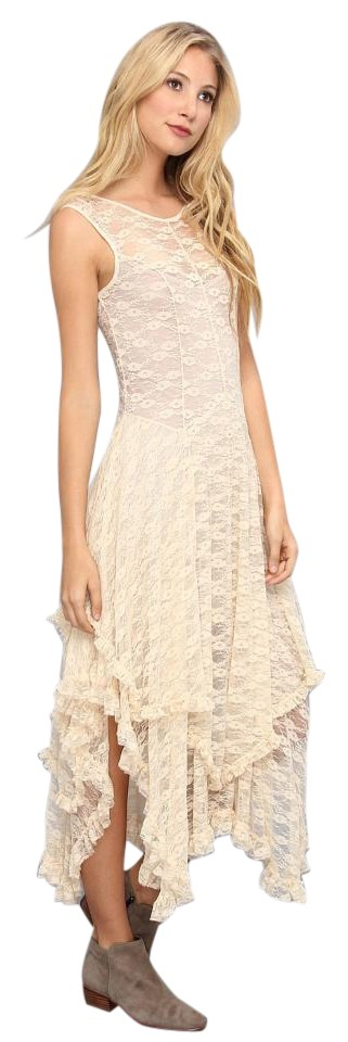 81008bf7e307 Free People Cream French Courtship Slip Mid-length Casual Maxi Dress ...
