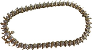 Diamond Bracelet 1 CTW Diamond Tennis Bracelet 14k Gold