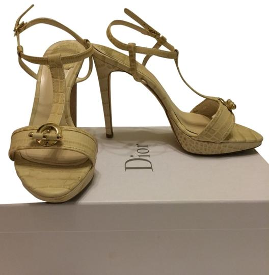 Dior Christian Pump Christian Louboutin Pump Tory Burch White Pump Gold Hardware Designer Nude Sandals
