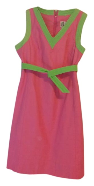 Preload https://img-static.tradesy.com/item/15478729/lilly-pulitzer-tropical-pink-lime-green-piping-v-neck-shift-above-knee-cocktail-dress-size-2-xs-0-1-650-650.jpg