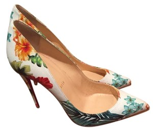 Christian Louboutin Multi colored Pumps