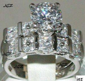 Engagement - Wedding 2.5+cts. 2 Ring Set * Size 7 * Exclusive New *