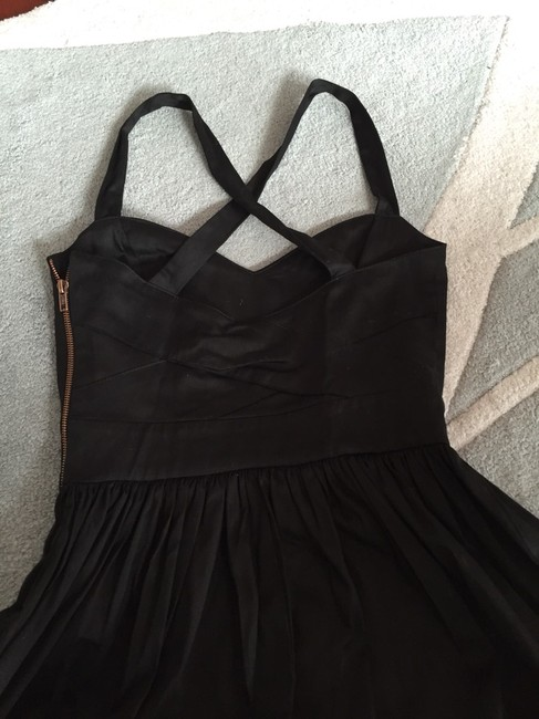 Bar III short dress Black Cross Lbd on Tradesy