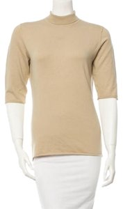 Burberry Knit Top Tan