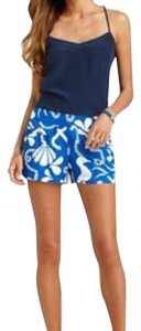 Lilly Pulitzer Mini/Short Shorts Blue and white