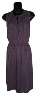Ann Taylor LOFT short dress PURPLE Sleeveless New on Tradesy