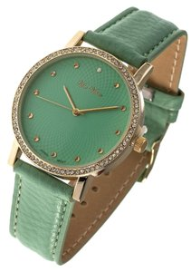 Mint Rhinestone Watch
