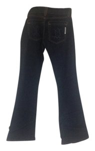 Bishop Boot Cut Jeans-Dark Rinse