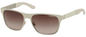 Saint Laurent YSL Yves Saint Laurent 2334 White Wayfarer Matte Rubber Sunglasses