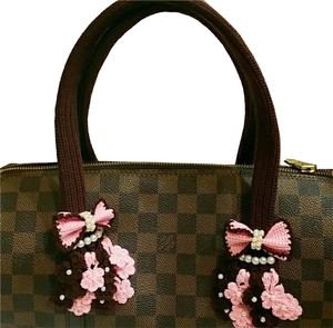Other Handmade Handle Covers For Louis Vuitton Neverful GM MM Papillon 30 Brown