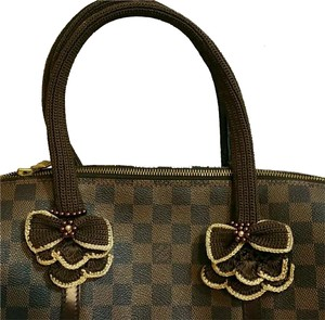 Handmade Handle Covers For Louis Vuitton Neverful GM MM Papillon 30 Brown