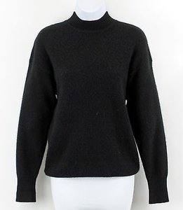 Neiman Marcus Black Mock Sweater