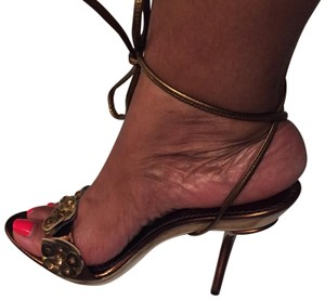 Ce Fou Shoo Bronze Pumps