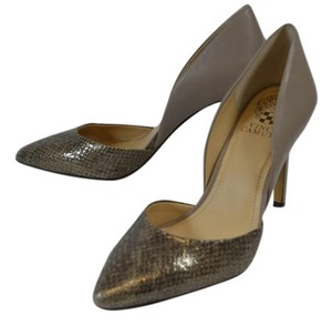 Vince Camuto TAUPE/GRAY Pumps