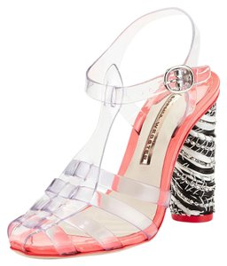Sophia Webster Crystal Vinyl Sandals