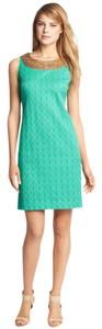 Adrianna Papell Jacquard Shift Dress