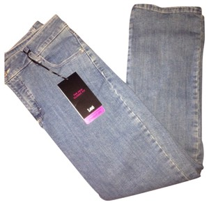 Lee Straight Leg Jeans-Medium Wash