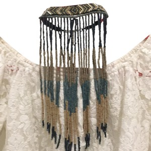 Free People Center Stage Fringe Choke
