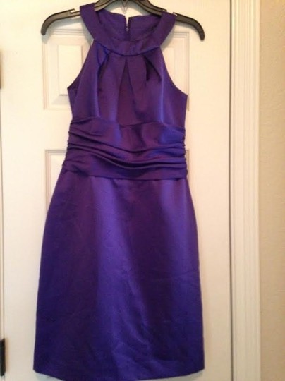 David's Bridal Regency, I Think! David's Bridal Purple Dress