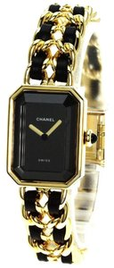 Chanel CHANEL Rare Vintage 18k Premier 2.55 Chain Braided Swiss Quartz M