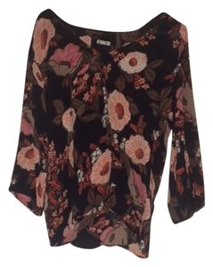 Reformation Top Floral Patterned