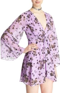 Free People short dress Purple Combo on Tradesy