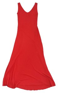 Maxi Dress by Ralph Lauren Red Cotton Maxi Maxi