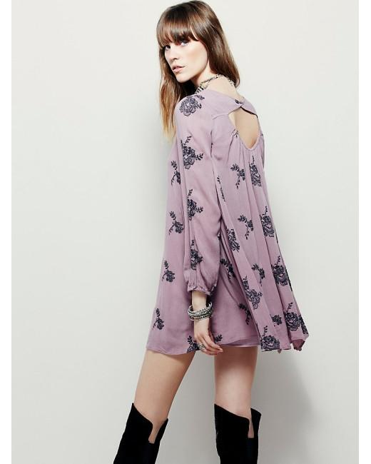 Free People short dress Elderberry Combo on Tradesy Image 1