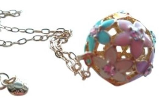 Preload https://img-static.tradesy.com/item/154828/jcrew-gold-pink-blue-yellow-pastels-cloisonne-flower-chain-necklace-0-0-540-540.jpg