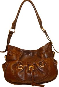 B. Makowsky Refurbished Leather Large Hobo Bag
