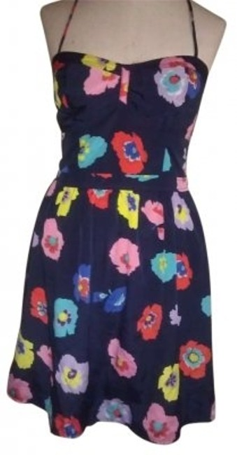 Preload https://img-static.tradesy.com/item/154837/american-eagle-outfitters-blue-colorful-flowers-summer-mini-short-casual-dress-size-6-s-0-0-650-650.jpg