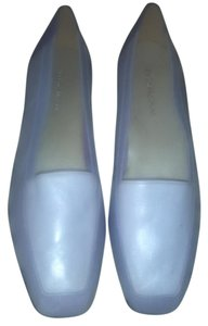 Enzo Angiolini Leather Purple/lavender Flats