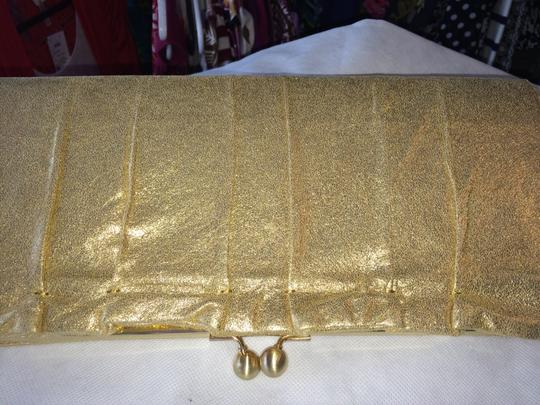 Hobo International Leather GOLD Clutch Image 1