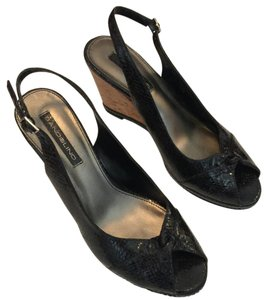 Bandolino Black Wedges