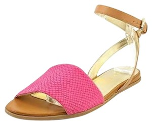 Tommy Hilfiger Casual Reptile Textile Pink Sandals