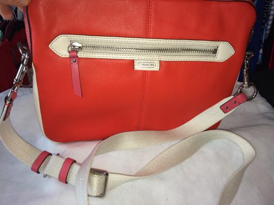 Coach Tote Shoulder Leather Cross Body Bag