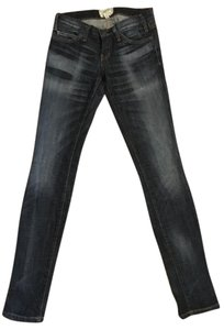 Current/Elliott Unique Wash Skinny Jeans-Medium Wash