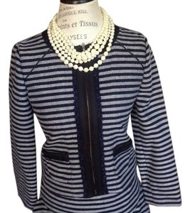 J.Crew Navy Cropped Jacket