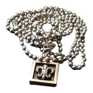 Chrome Hearts Chrome hearts anchor pendant