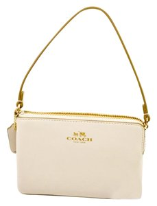 Coach Wristlet in White/Chalk